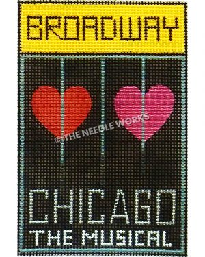 Chicago the Musical Broadway playbill