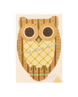 brown and yellow owl