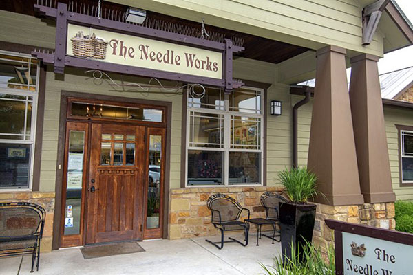 The Needle Works shop in Austin Texas