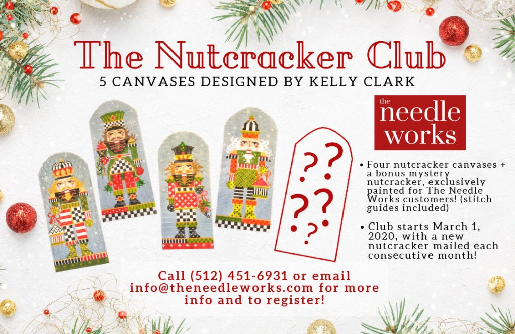 The Nutcrakcer Club with Kelly Clark canvas designs