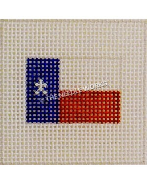 small Texas flag canvas