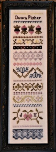 Ma Belle Cross Stitch Sampler