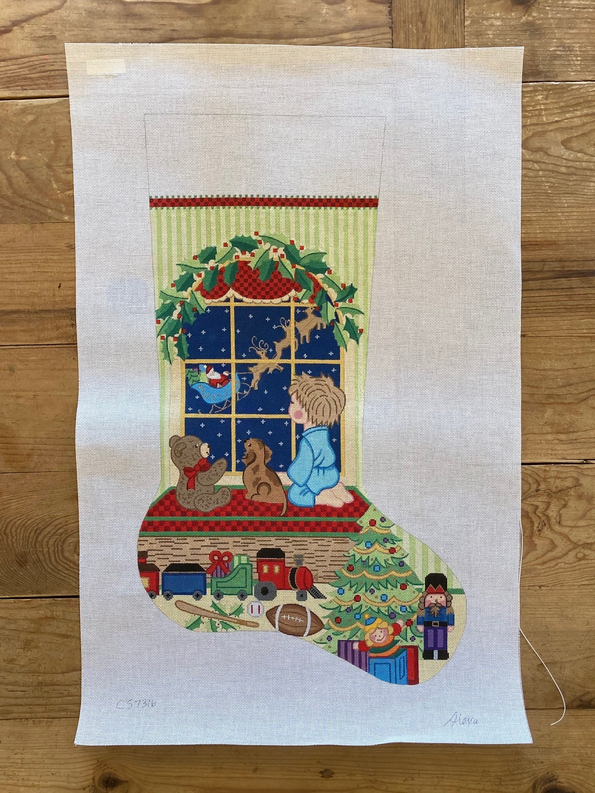 Alexa Needlepoint Designs Trunk Show at The Needle Works