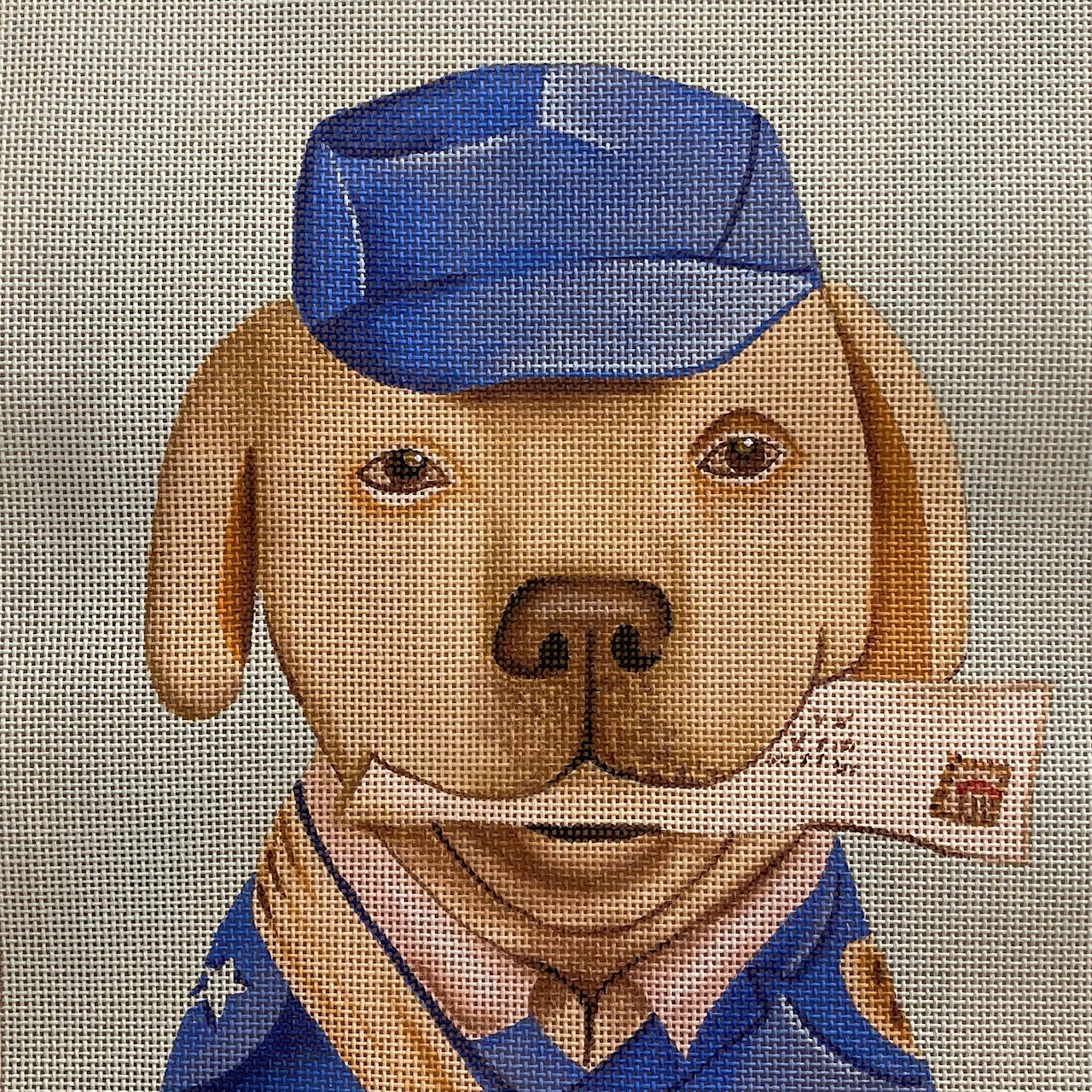 Needlepoint Canvases for the Animal Lover in your Life (Including You!)