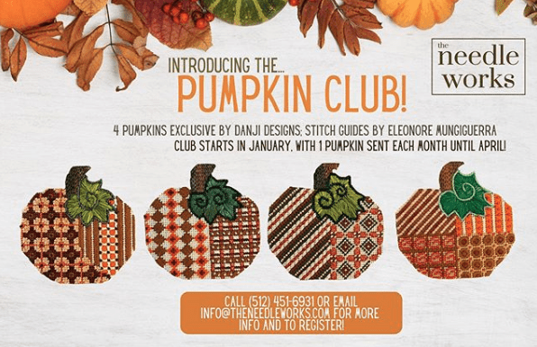 Introducing the Pumpkin Club at The Needle Works!