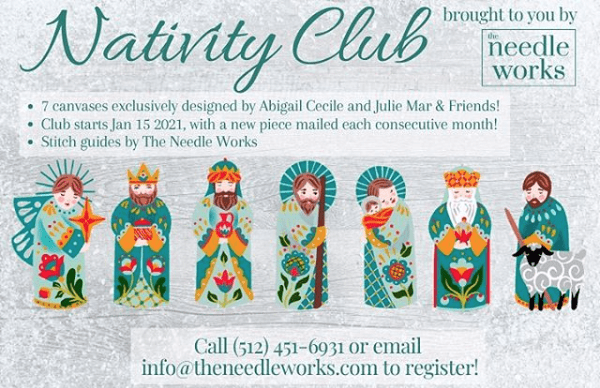 Join Us at The Needleworks in the Nativity Club!